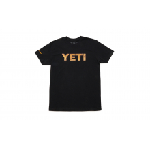 YETI Redfish Logo T-Shirt - Black