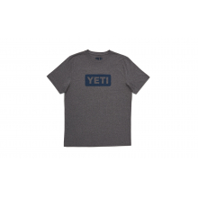 YETI Badge Logo T-Shirt - Gray Heather by YETI