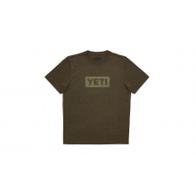 YETI Badge Logo T-Shirt - Military by YETI