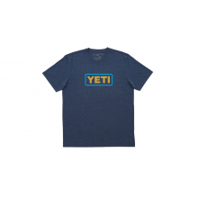 YETI Badge Logo T-Shirt - Navy Heather by YETI in Montgomery Al