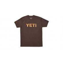 YETI Redfish Logo T-Shirt - Brown by YETI