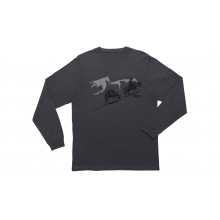 YETI Long Haul Long Sleeve T-Shirt - Charcoal - S by YETI