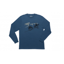 YETI Long Haul Long Sleeve T-Shirt - Denim - XXL by YETI
