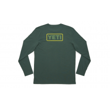 Badge Logo Long Sleeve T-Shirt - Green