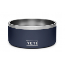 Boomer 8 Dog Bowl - Navy