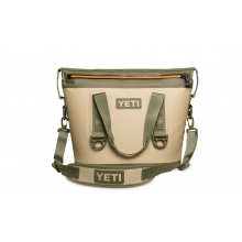 YETI Hopper Two 20 - Field Tan Blaze Orange