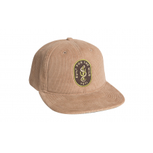 Cactus Snake Corduroy Full Panel Hat - Field Tan