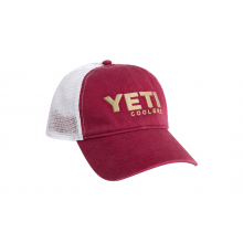 Washed Low-Pro Trucker Hat - Garnet/Gold by YETI in Corte Madera CA
