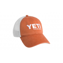 Washed Low-Pro Trucker Hat - Burnt Orange/White by YETI in Corte Madera CA