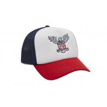 Usa High Pro Foam Trucker Hat - Red White Blue