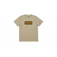 Badge Logo T-Shirt - Tan