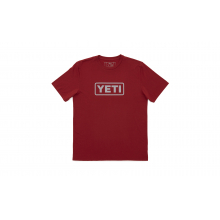 YETI Badge Logo T-Shirt - Wine by YETI in Dillon Co
