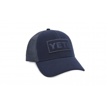Patch Trucker Hat - Navy On Navy