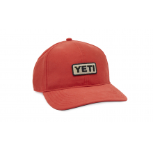 Low Profile Camp Hat - Bright Red