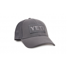 Patch Trucker Hat - Gray On Gray by YETI