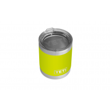 Rambler 10 Oz Lowball With Standard Lid - Chartreuse by YETI in Orange City FL