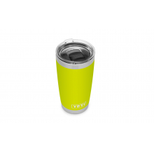 Rambler 20 Oz Tumbler With Magslider Lid - Chartreuse by YETI in Grand Blanc MI