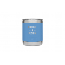 Rambler 10 Oz Lowball With Standard Lid - Pacific Blue by YETI