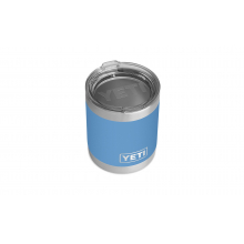 Rambler 10 Oz Lowball With Standard Lid - Pacific Blue