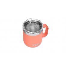 Rambler 10 Oz Stackable Mug With Standard Lid - Coral