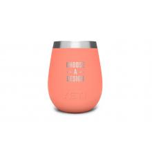 Rambler 10 Oz Wine Tumbler - Coral