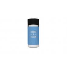 Rambler 12 Oz Bottle With Hotshot Cap - Pacific Blue