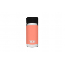 Rambler 12 Oz Bottle With Hotshot Cap - Coral by YETI in Grand Blanc MI