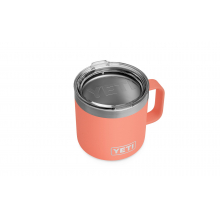 Rambler 14 Oz Mug With Standard Lid - Coral by YETI in Longmont CO