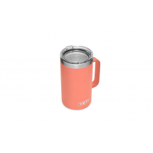 Rambler 24 Oz Mug With Standard Lid - Coral