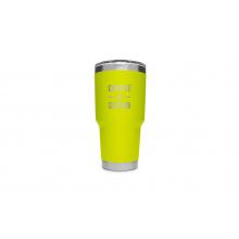 Rambler 30 Oz Tumbler With Magslider Lid - Chartreuse