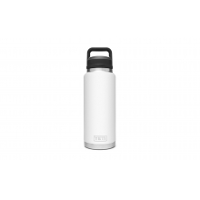 Rambler 36 Oz Bottle With Chug Cap - White by YETI