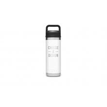 Rambler 18 Oz Bottle With Chug Cap - White