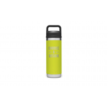 Rambler 18 Oz Bottle With Chug Cap - Chartreuse by YETI