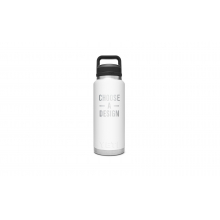 Rambler 36 Oz Bottle With Chug Cap - White by YETI