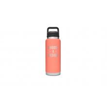 Rambler 36 Oz Bottle With Chug Cap - Coral by YETI