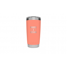 Rambler 20 Oz Tumbler With Magslider Lid - Coral by YETI