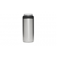 Rambler 12 Oz Colster Slim Can Insulator - Stainless Steel by YETI in Grand Blanc MI