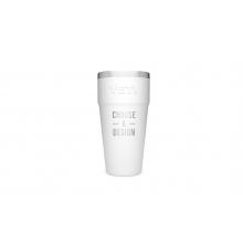 Rambler 26 Oz Stackable Cup - White