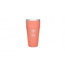 Rambler 26 Oz Stackable Cup - Coral