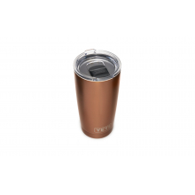 Rambler 20 Oz Tumbler With Magslider Lid - Copper
