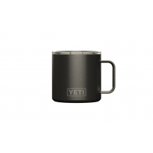 Rambler 14 Oz Mug With Standard Lid - Graphite by YETI