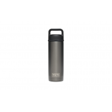 Rambler 18 Oz Bottle With Chug Cap - Graphite by YETI in Grand Blanc MI