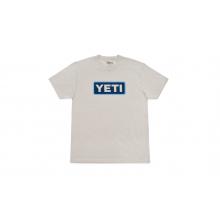 Badge Logo T-Shirt - Sand / Blue - XL