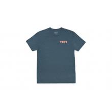 Camp Badge Short Sleeve T-Shirt - Indigo - XL