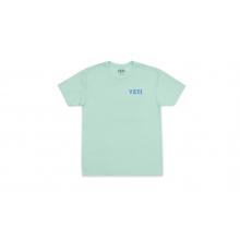 Camp Badge Short Sleeve T-Shirt - SEAFOAM - L