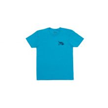 Fly Lures Short Sleeve T-Shirt - Blue - M by YETI