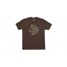 Brown Trout Short Sleeve T-Shirt - Espresso - M