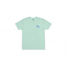 Fly Lures Short Sleeve T-Shirt - Seafoam - XXL