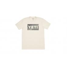 American Flag Short Sleeve T-Shirt - Cream - XXXL