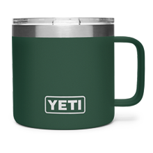 INTL Rambler 14 Oz Mug With Standard Lid - Northwoods Green
